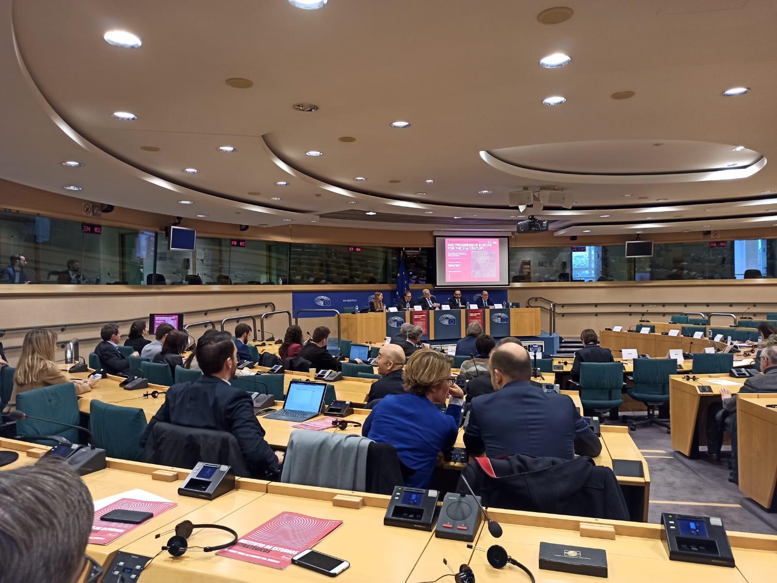 El Instituto de Estudios Estratégicos de Foment reivindica Europa para construir un nuevo pacto social y un crecimiento económico inclusivo