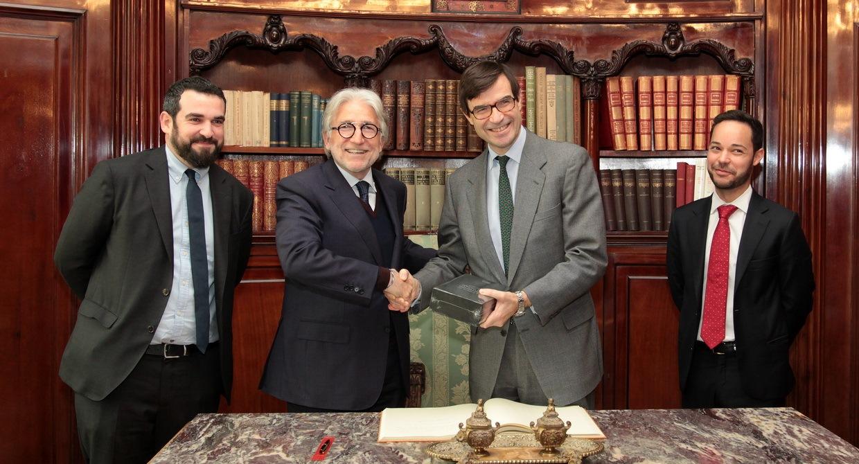 El presidente de Foment se reúne con el secretario de Estado para la UE
