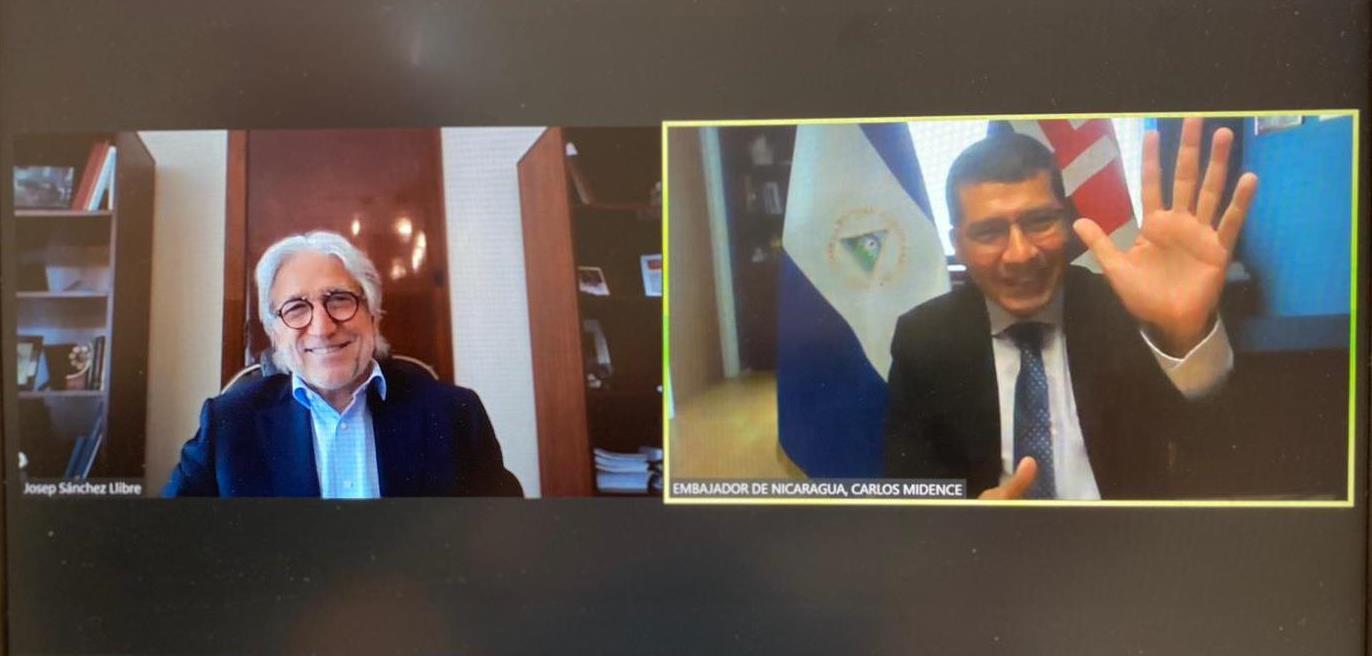 El president de Foment es reuneix amb l'ambaixador de Nicaragua