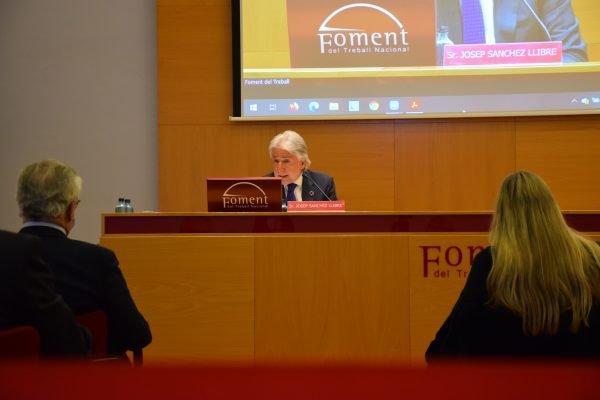 Sánchez Llibre pide un pacto de país y no aplazar las elecciones catalanas del 14F
