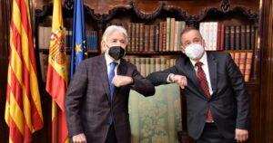 El presidente de Foment se reune con el embajador de la República Checa