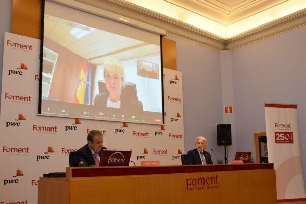"""Carme Artigas: """"Espanya destinarà un terç dels fons de recuperació a la digitalització"""""""