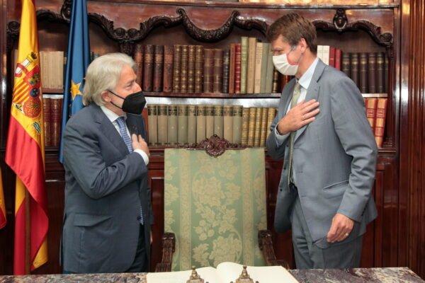 L'ambaixador britànic a Espanya visita Foment
