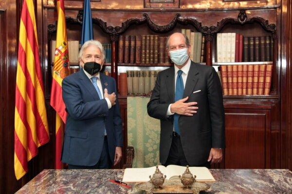 El president de Foment es reuneix amb l'ambaixador d'Itàlia