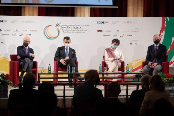 Els ministres d'exteriors d'Itàlia i Espanya marquen l'agenda europea amb els Fons Next Generation EU