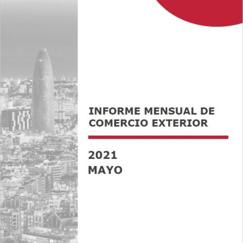 Informe mensual de Comerç Exterior- Maig 2021