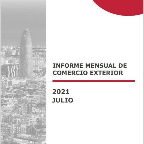 Informe de Comerç Exterior – Juliol 2021