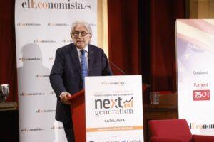 Sánchez Llibre lamenta la poca concreción de los fondos europeos Next Generation frente a la alta expectativa generada